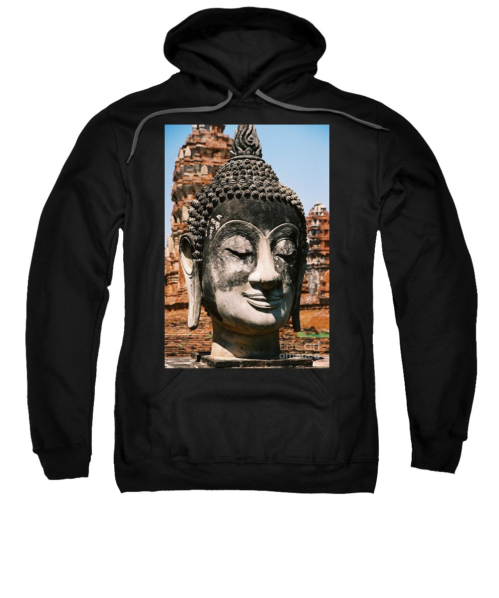 Statue Sweatshirt featuring the photograph Sleepy Face by Mary Rogers