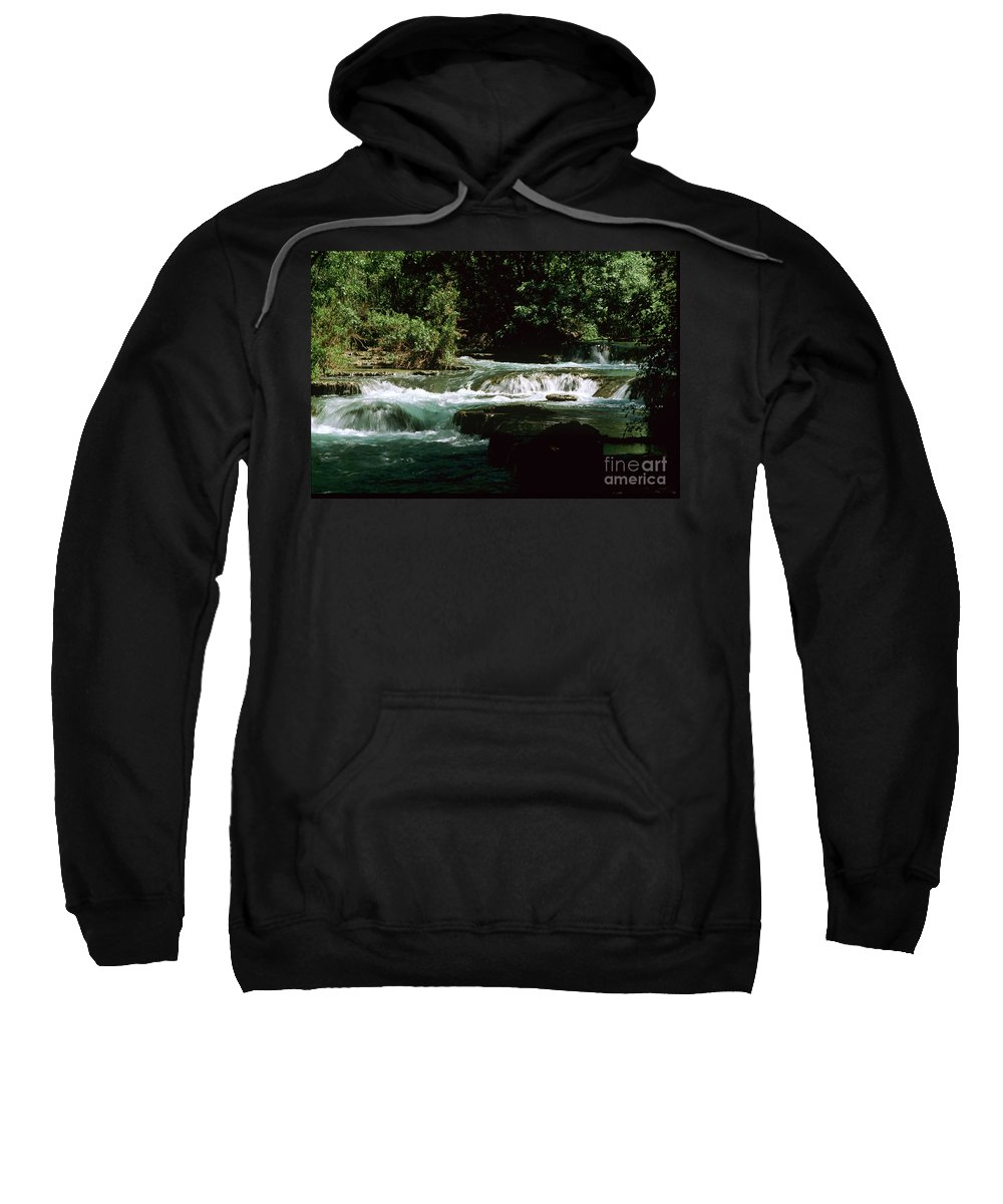 Havasupai Sweatshirt featuring the photograph Small Rapids on Havasu Creek by Kathy McClure