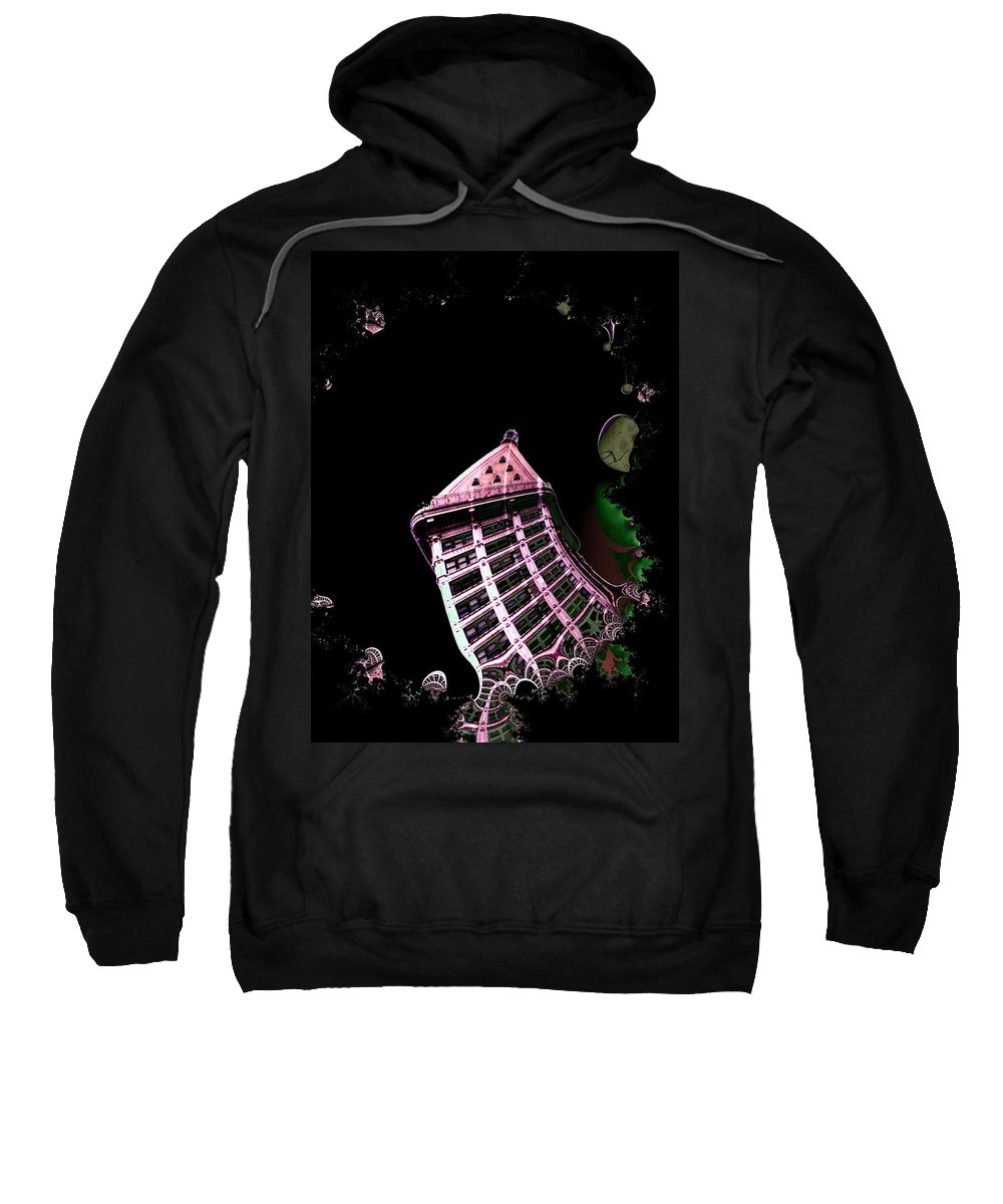 Seattle Sweatshirt featuring the photograph Smith Tower Reflect 1 by Tim Allen