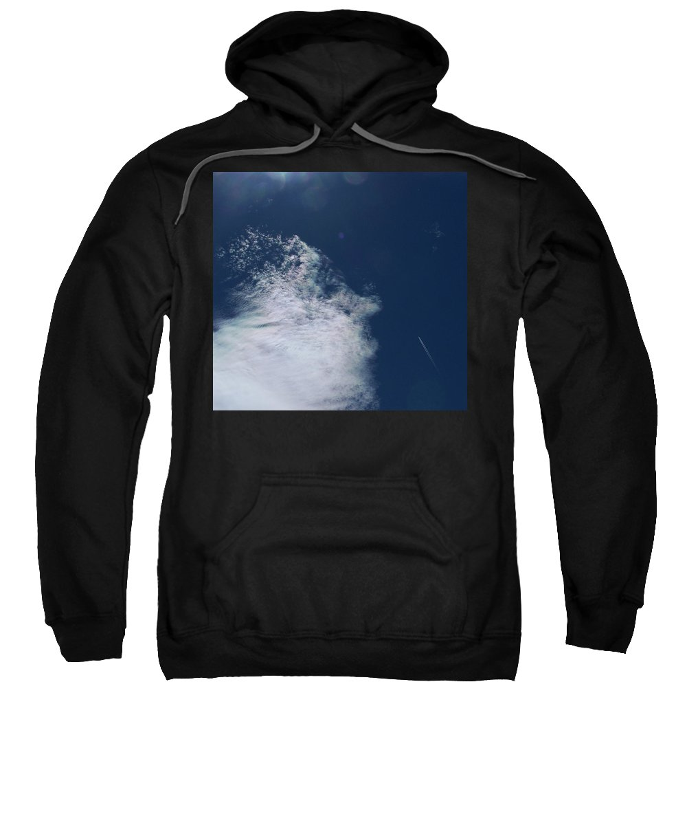 Strange Clouds Sweatshirt featuring the photograph Sneezing Drones 2 by Kit Kay