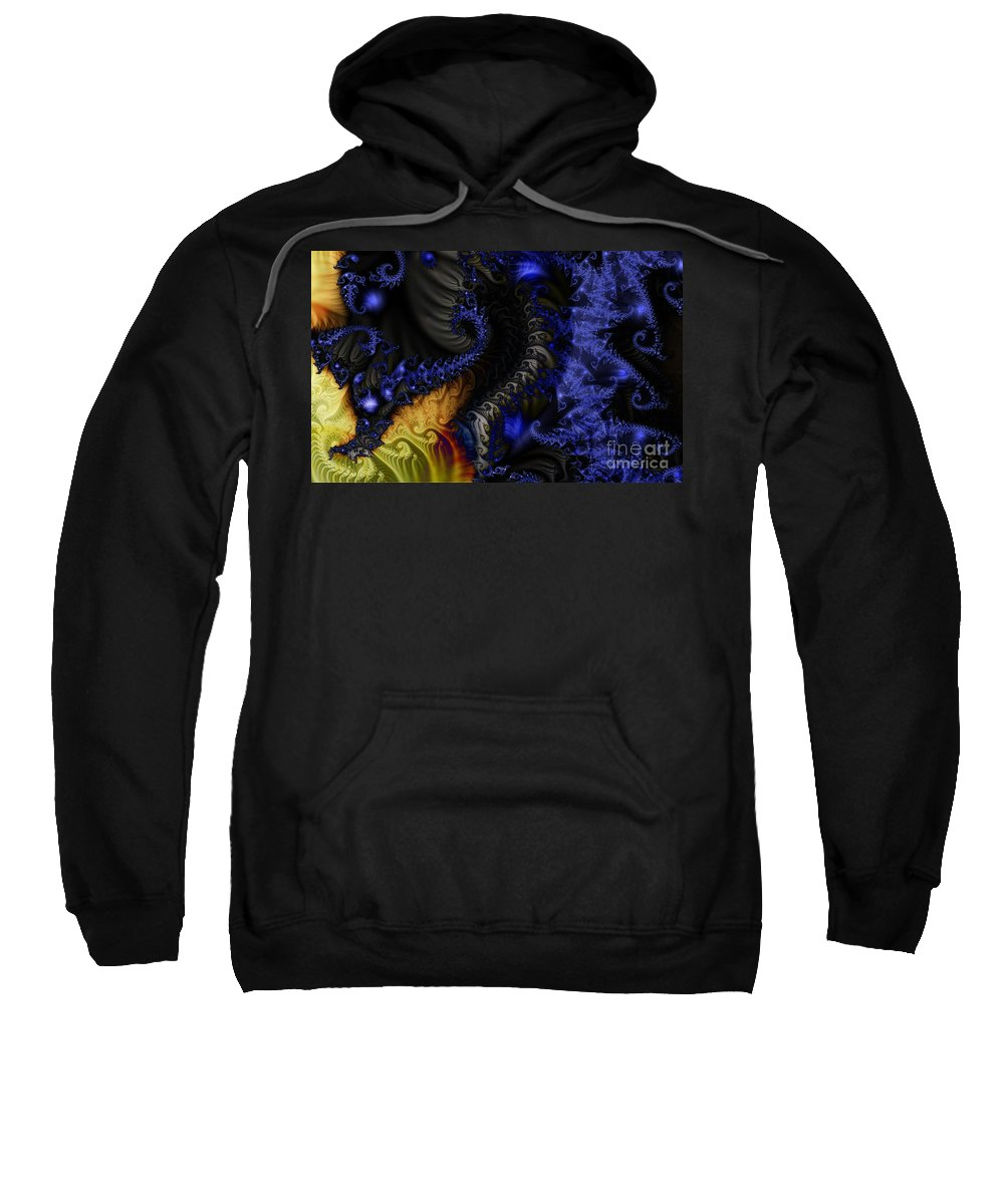 Clay Sweatshirt featuring the digital art Social Classes by Clayton Bruster