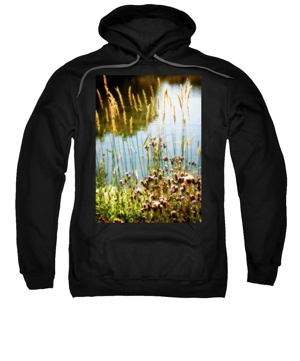 Soft Sweatshirt featuring the photograph Soft And Surreal by Marilyn Hunt