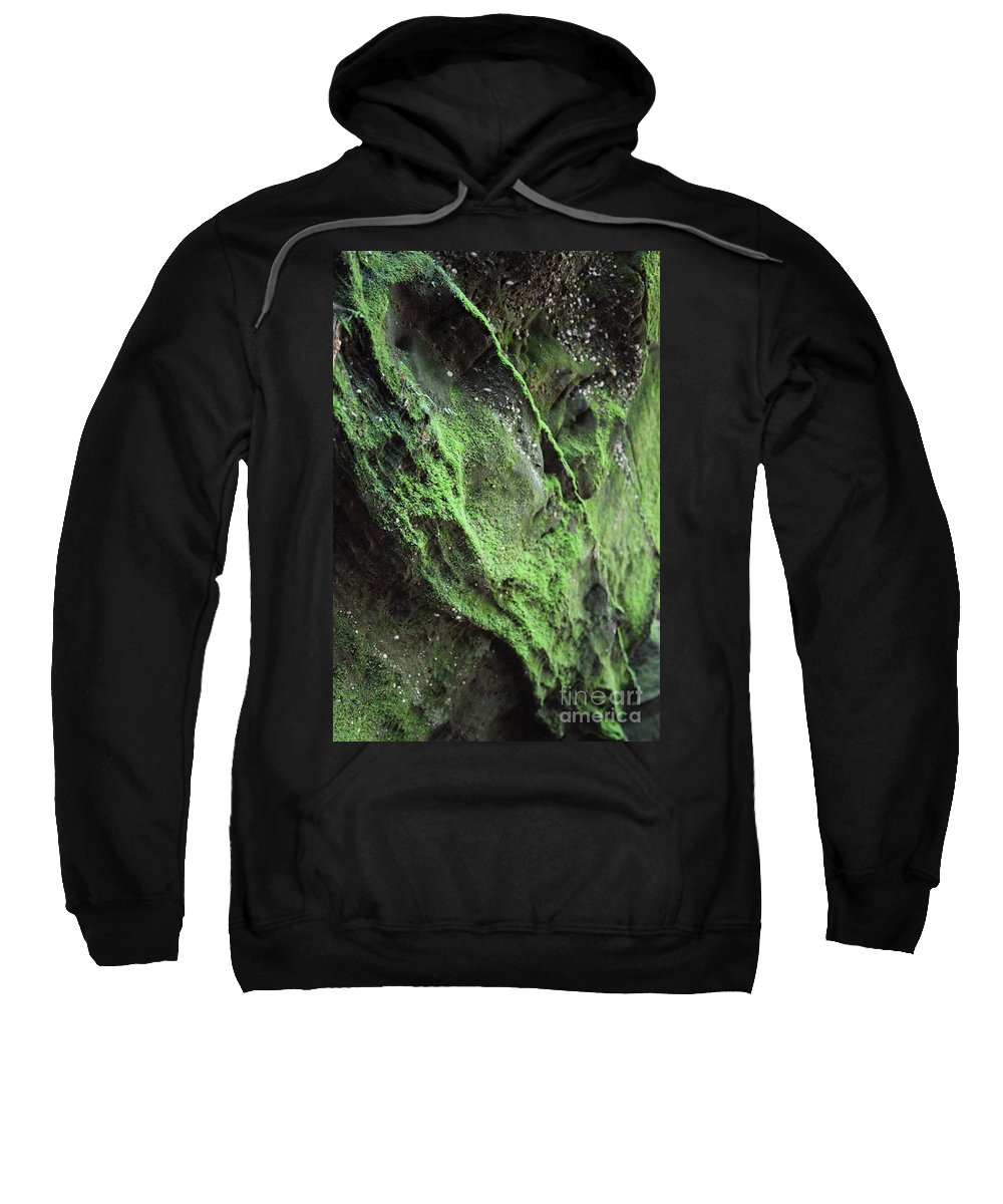 Rocks Sweatshirt featuring the photograph Soften The Moment by Amanda Barcon