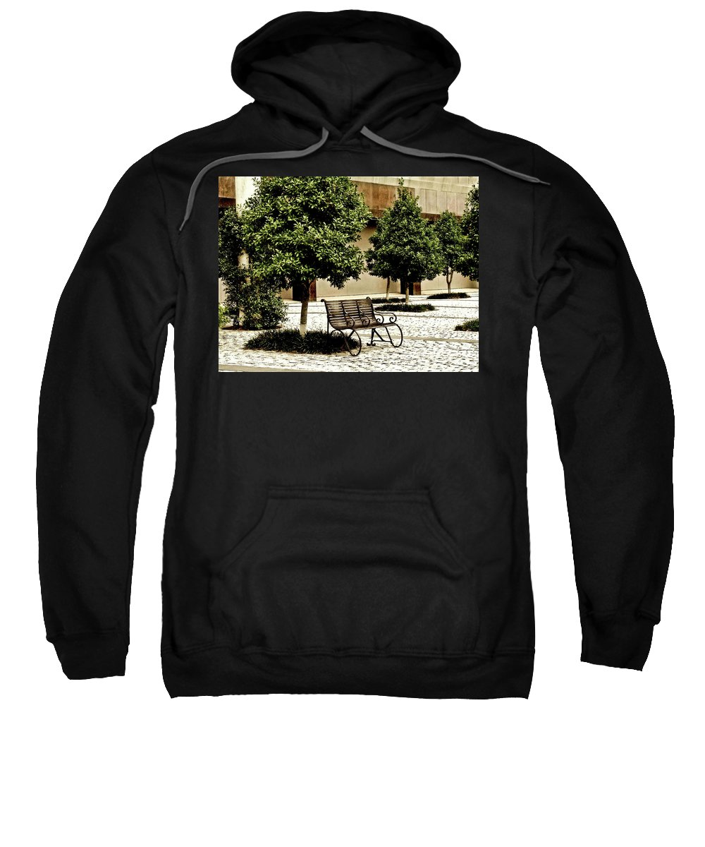 Landscape Sweatshirt featuring the photograph Solitude by Frances Hattier