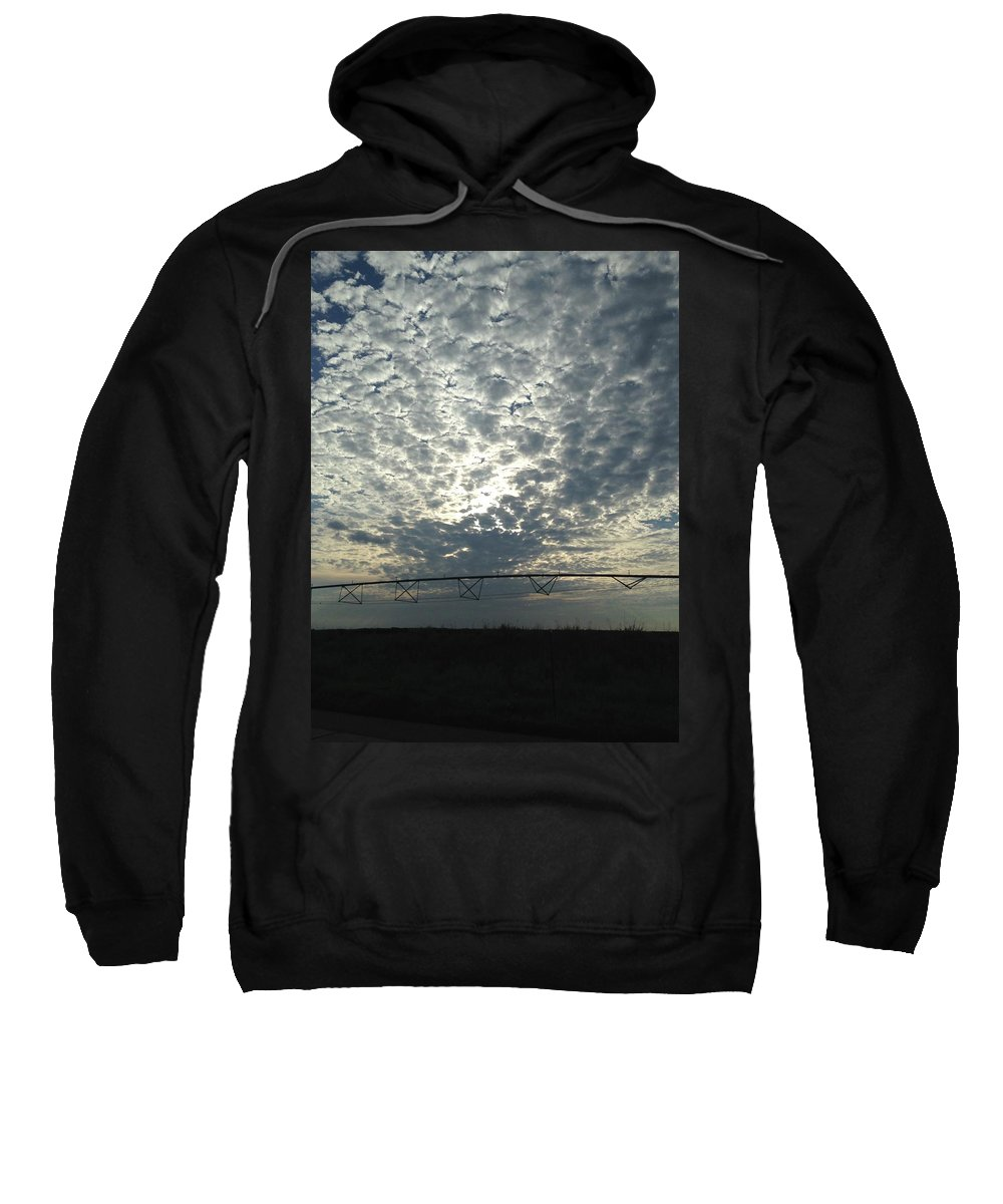 Sweatshirt featuring the photograph Somewhere Over The Pivot by Britt P