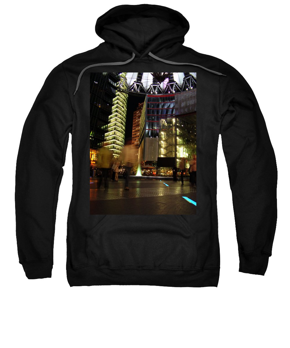 Sony Center Sweatshirt featuring the photograph Sony Center by Flavia Westerwelle
