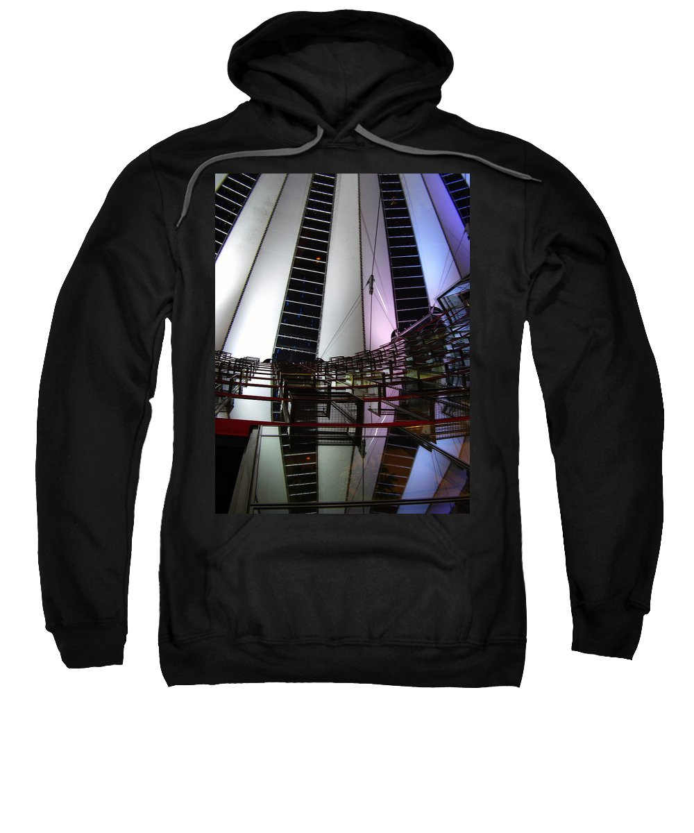 Sony Center Sweatshirt featuring the photograph Sony Center II by Flavia Westerwelle