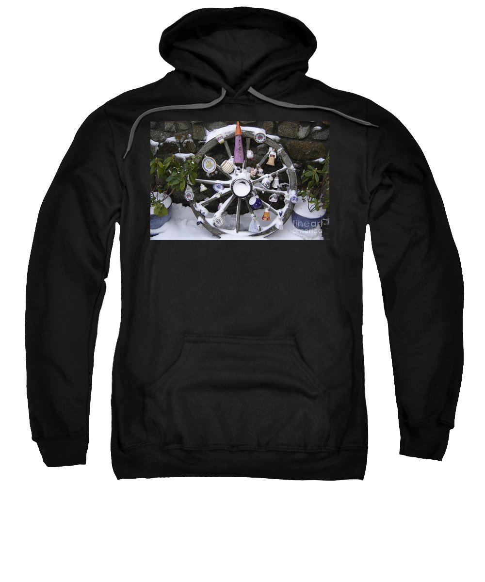 Snow Sweatshirt featuring the photograph Souvenirs by Mary Rogers