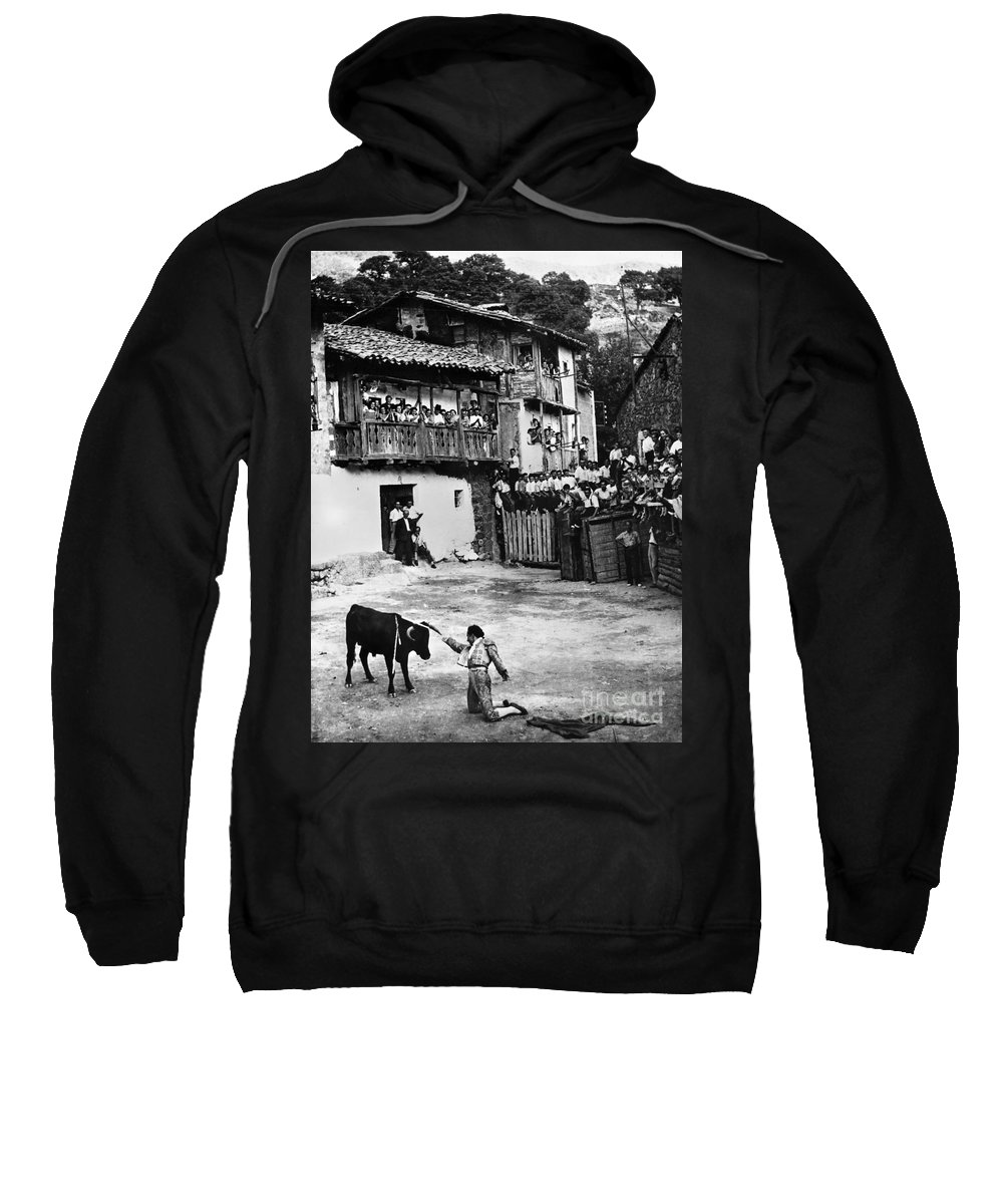 20th Century Sweatshirt featuring the photograph Spain: Bullfight by Granger