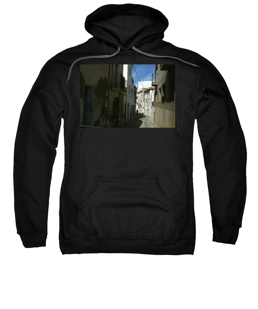 Spain Sweatshirt featuring the photograph Spain One Way by Minaz Jantz