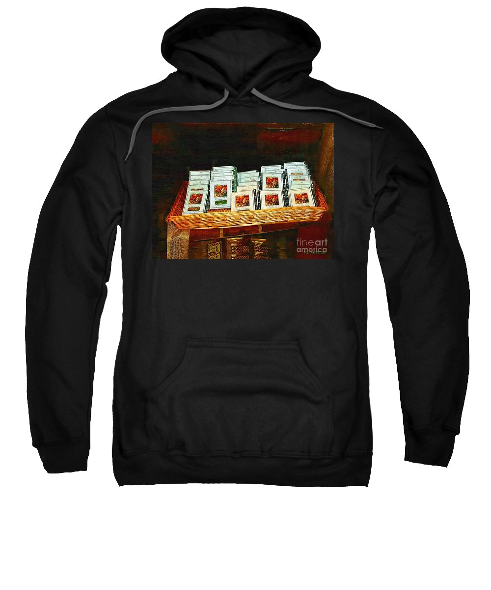 Antiques Sweatshirt featuring the painting Spice Island by RC DeWinter