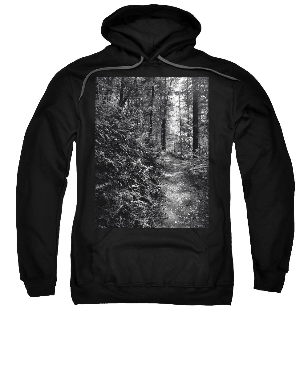 Landscape Sweatshirt featuring the photograph Spirit Of The Wood by Karen W Meyer