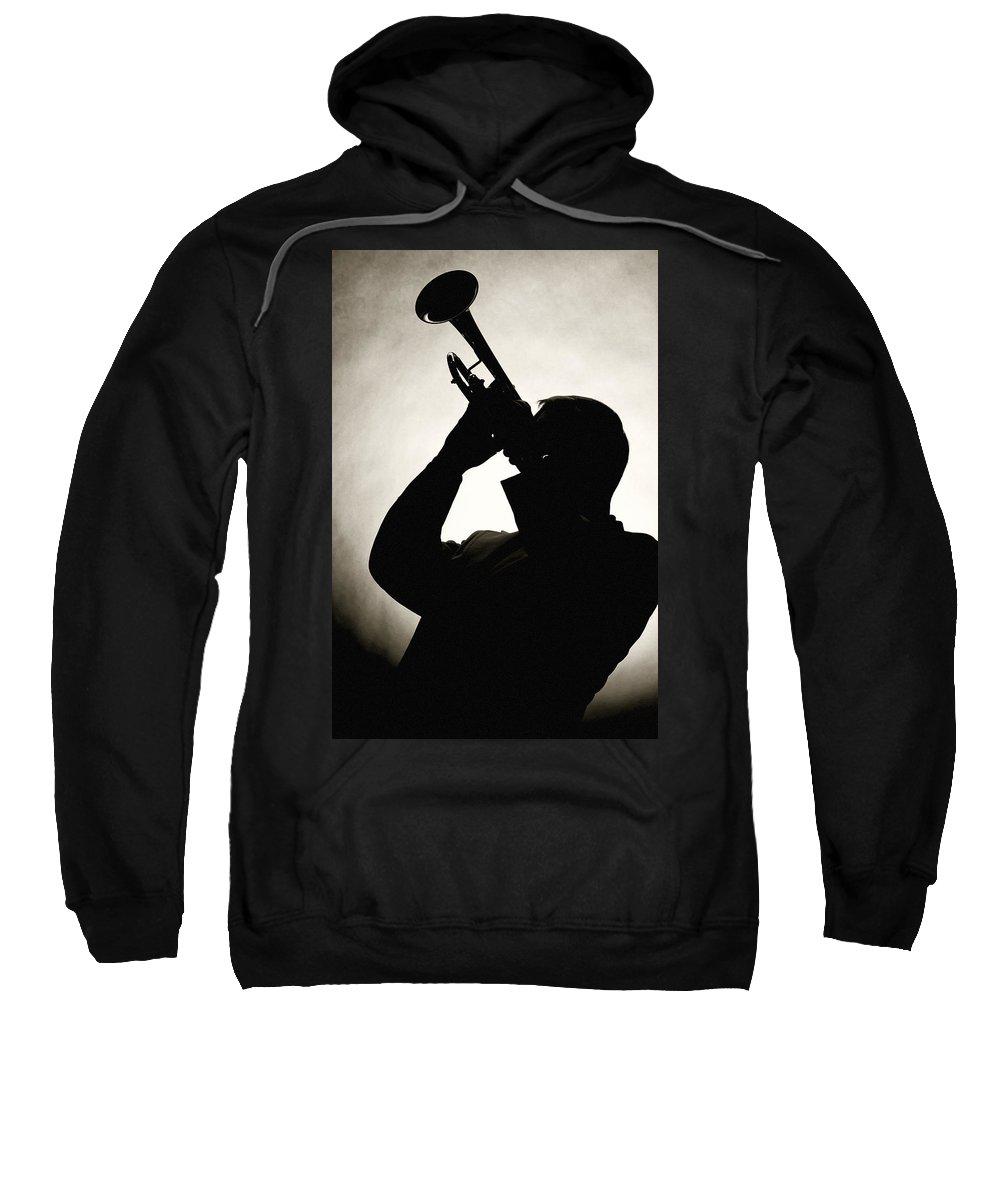 Fine Art Sweatshirt featuring the photograph Spotlight Performer by M K Miller
