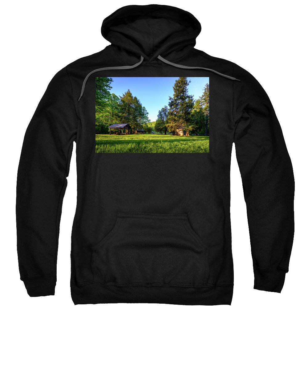 1900's Sweatshirt featuring the photograph Spring In Mabry by Michael Scott