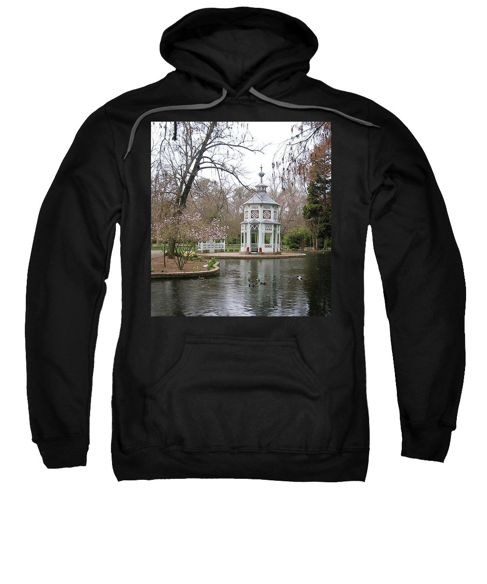 Landscape Sweatshirt featuring the photograph Spring In The Aranjuez Gardens Spain by Valerie Ornstein
