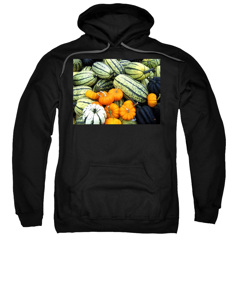Squash Sweatshirt featuring the photograph Squash Harvest by Will Borden