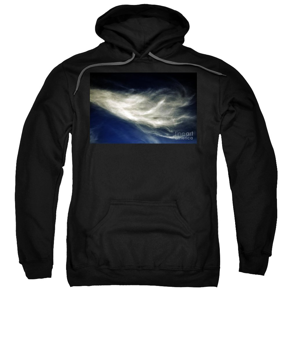 Clay Sweatshirt featuring the photograph Squid Cloud by Clayton Bruster