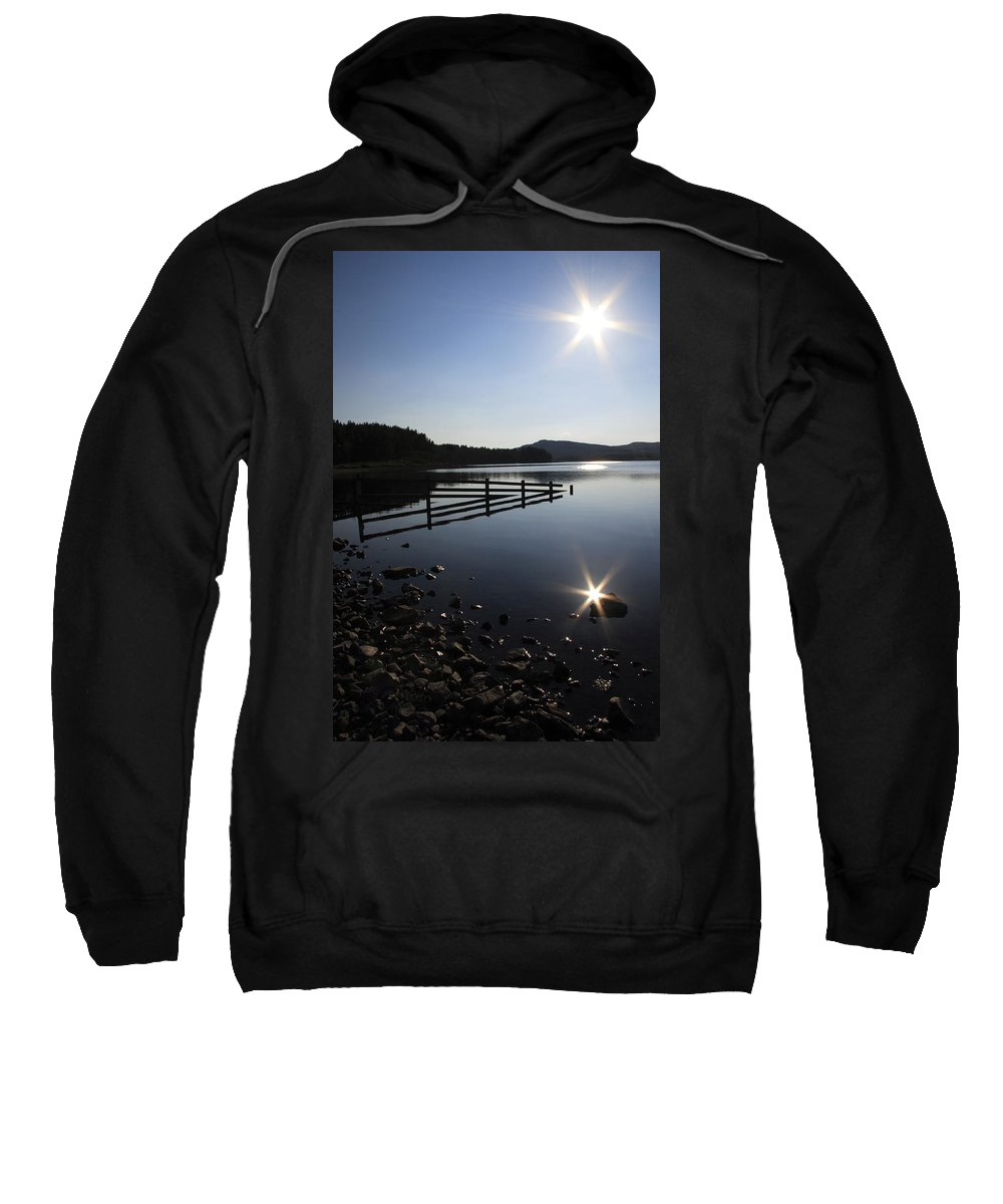Sun Sweatshirt featuring the photograph Starburst by Phil Crean