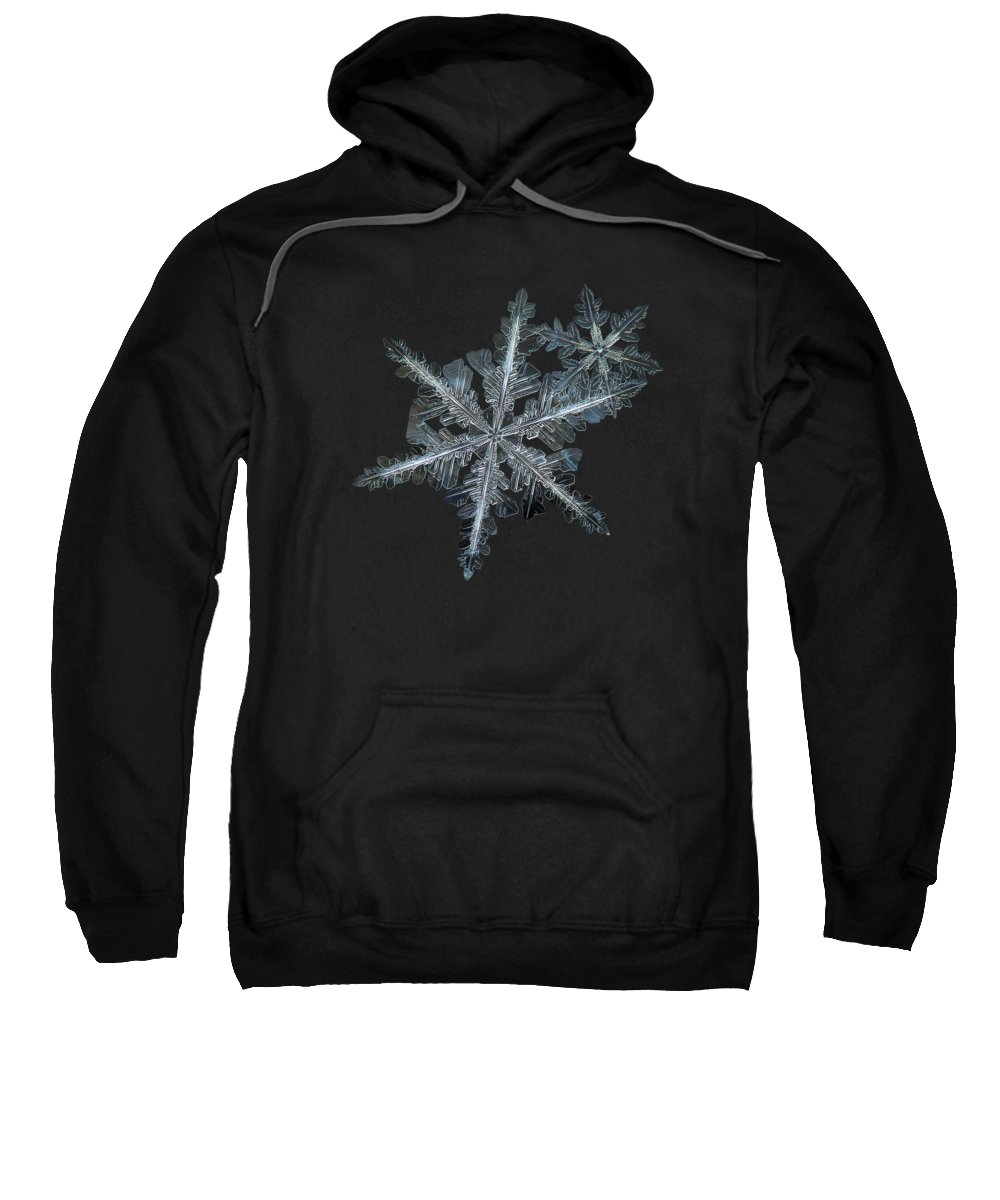 Snowflake Sweatshirt featuring the photograph Stars In My Pocket Like Grains Of Sand by Alexey Kljatov