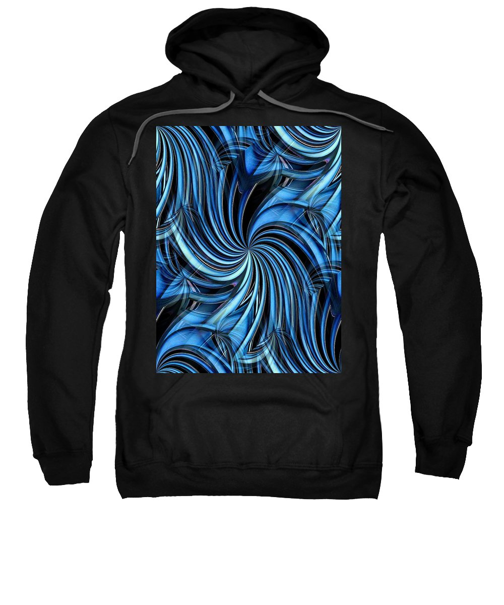 Seattle Sweatshirt featuring the photograph Steel Whirlpool by Tim Allen