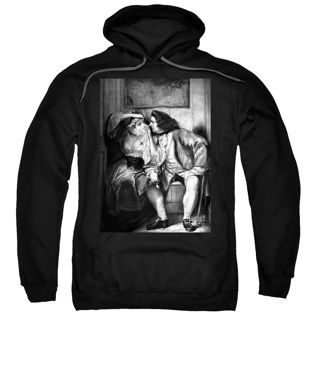 18th Century Sweatshirt featuring the photograph Sterne: Tristram Shandy by Granger
