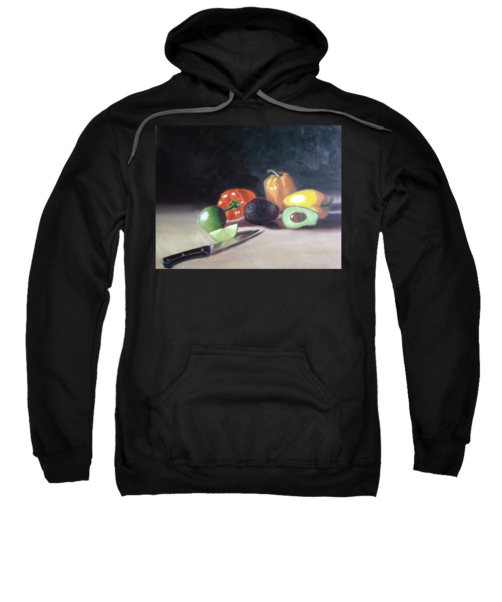 Sweatshirt featuring the painting Still-life by Toni Berry