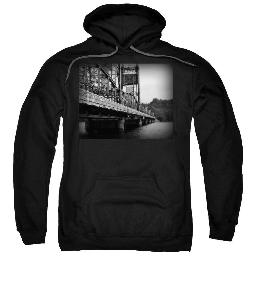 Bridge Sweatshirt featuring the photograph Stillwater Bridge by Perry Webster