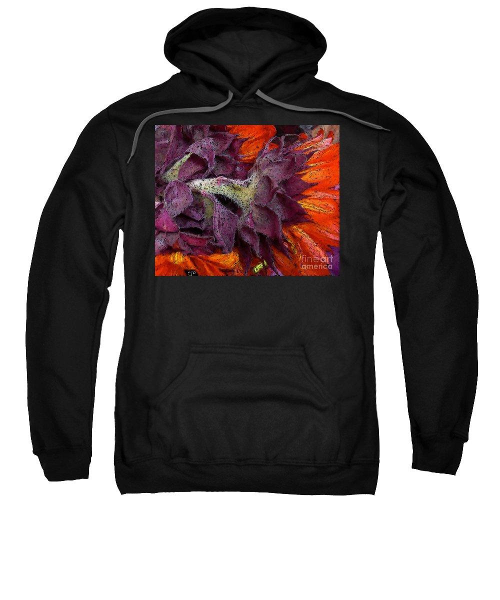 Flower Sweatshirt featuring the photograph Store Flower by Ron Bissett