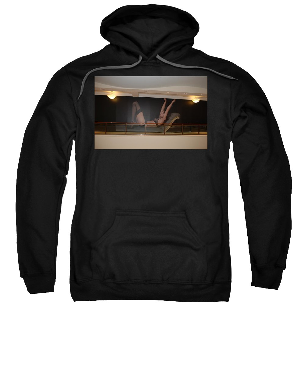 Sexy Sweatshirt featuring the photograph Streeeeching by Rob Hans