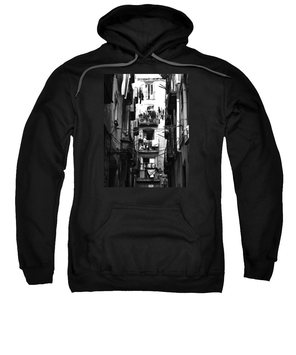 Photo Sweatshirt featuring the photograph Street 1 by Roger Muntes