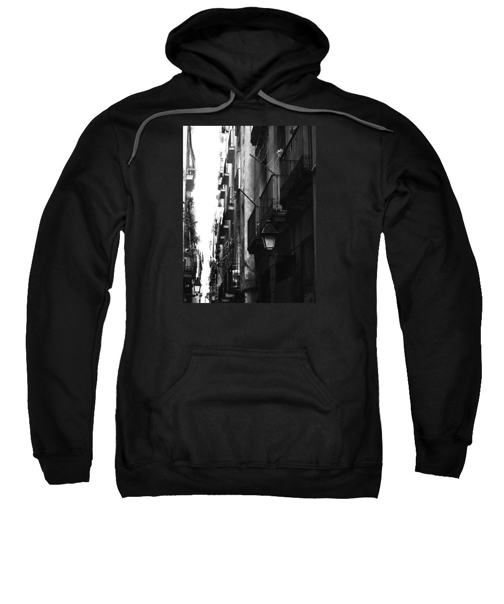 Photo Sweatshirt featuring the photograph Street 5 by Roger Muntes