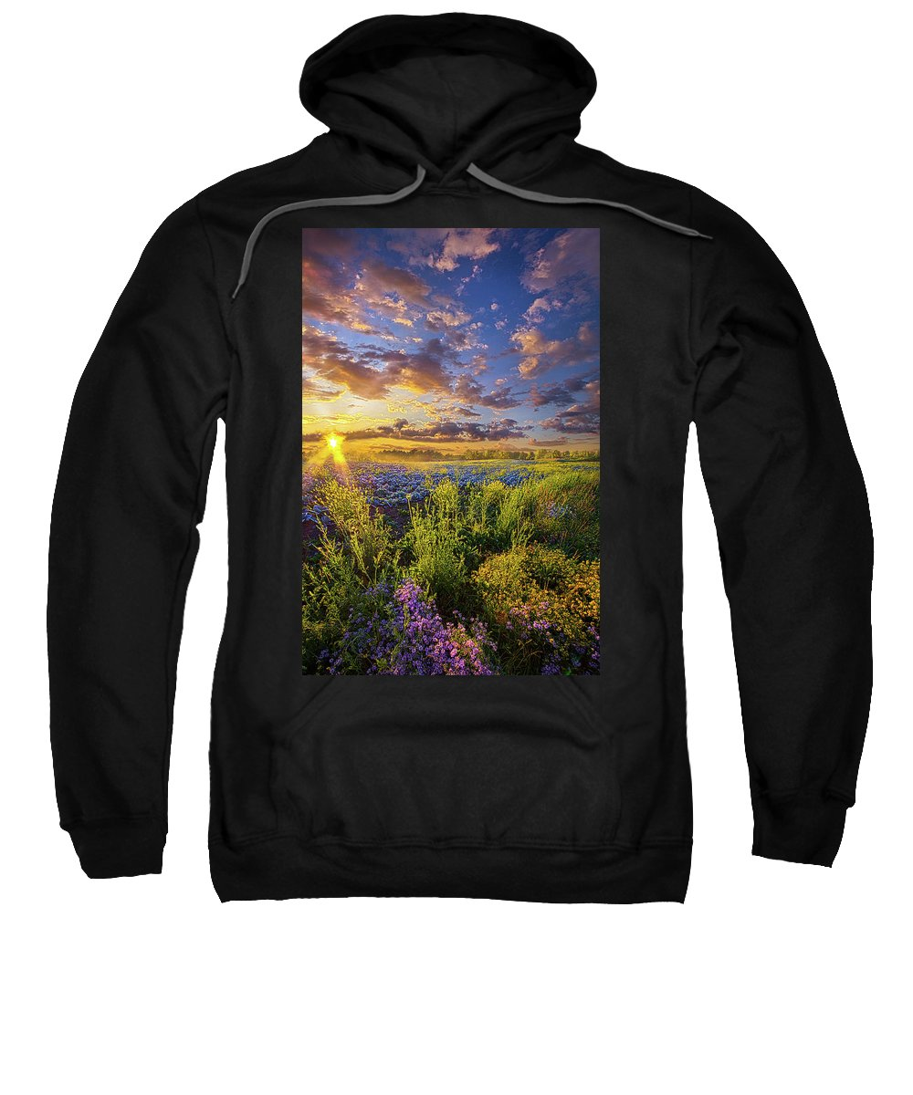 Spring Sweatshirt featuring the photograph Striving To Be by Phil Koch