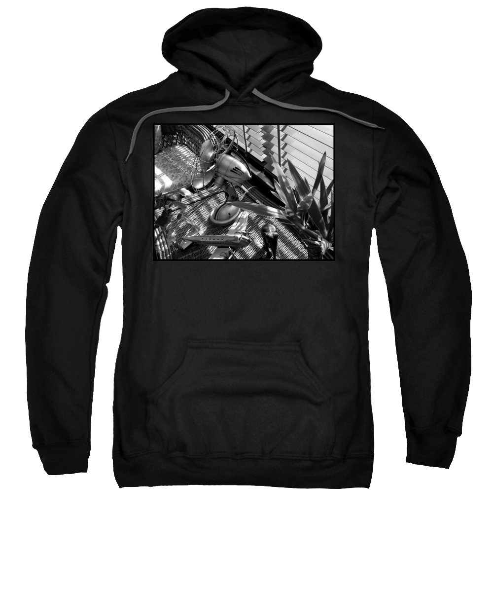Still Life Sweatshirt featuring the photograph Suburban Safari by Charles Stuart