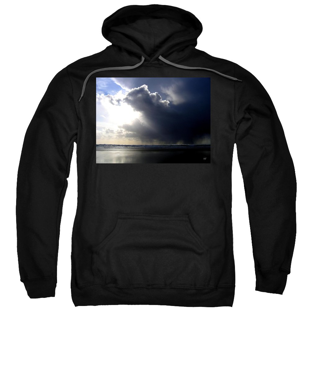 Squall Sweatshirt featuring the photograph Sudden Squall by Will Borden