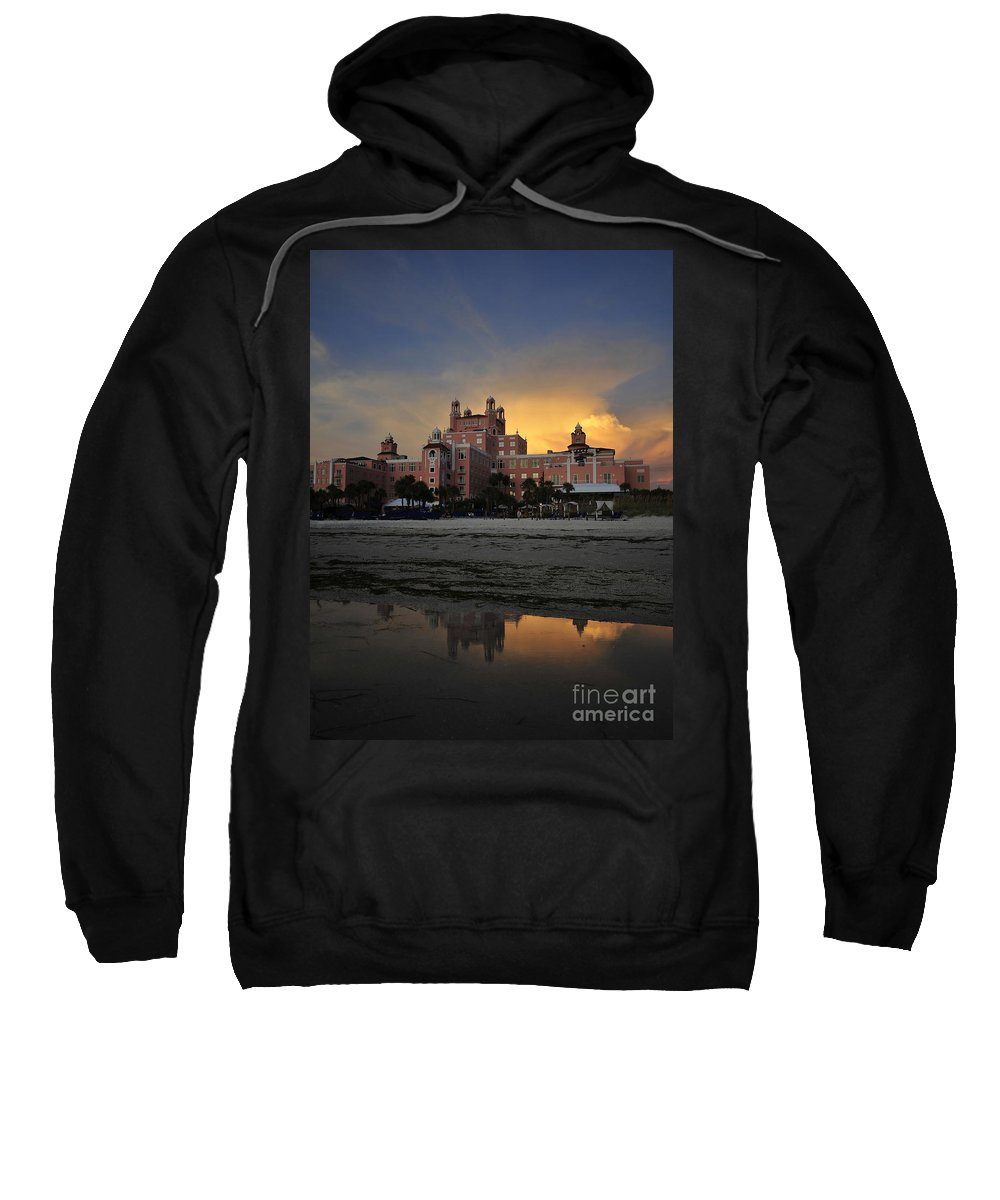Fine Art Photography Sweatshirt featuring the photograph Summer At The Don by David Lee Thompson