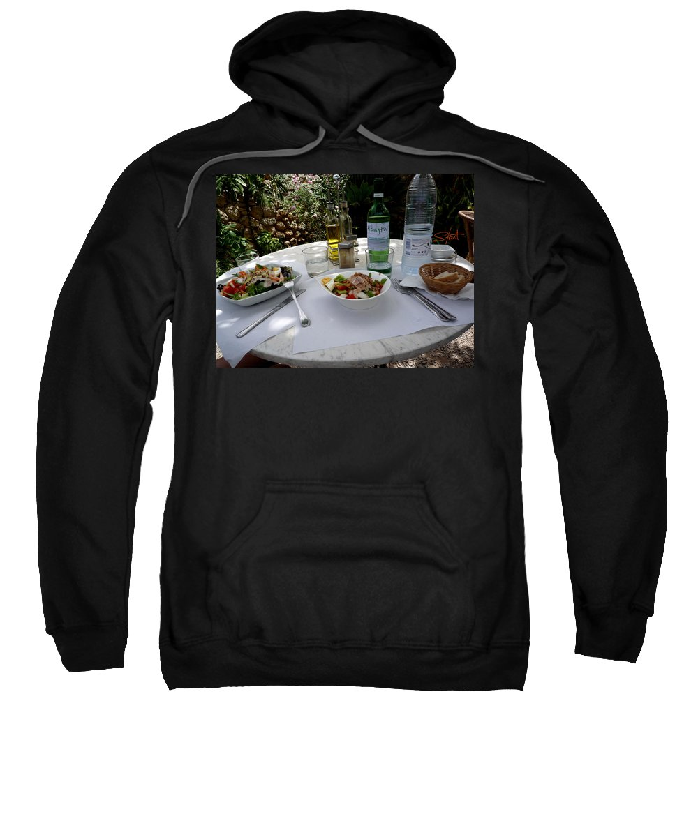 Lunch Sweatshirt featuring the photograph Summer Salad by Charles Stuart