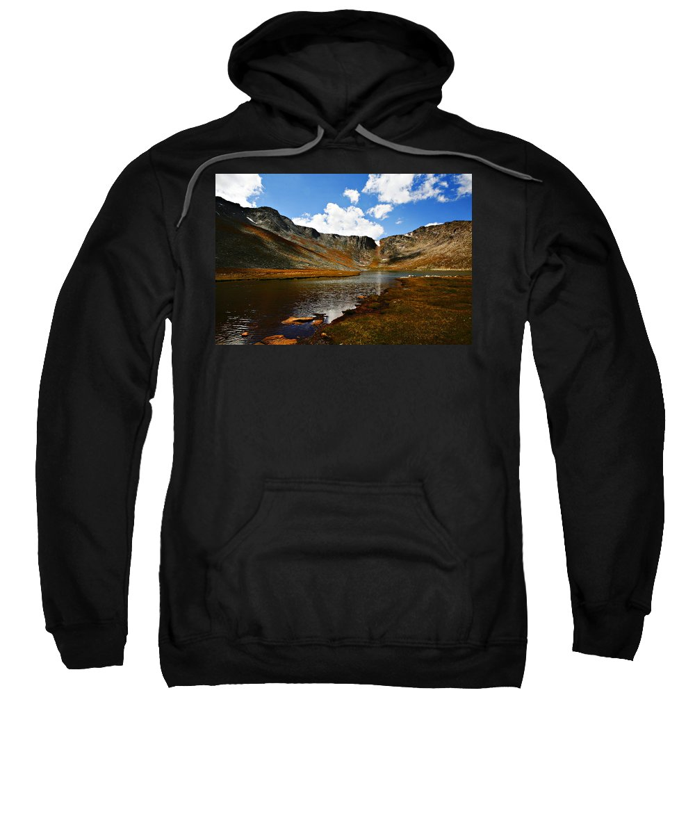 Travel Sweatshirt featuring the photograph Summit Lake Colorado by Marilyn Hunt