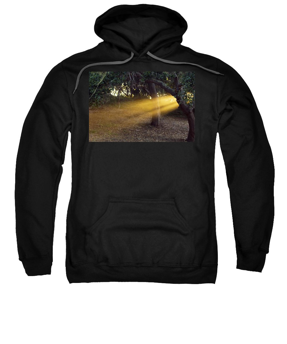 Landscape Sweatshirt featuring the photograph Sun Rays 2 by Jill Reger