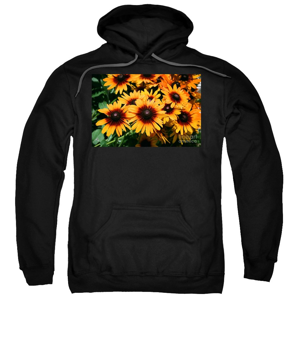 Sunflowers Sweatshirt featuring the photograph Sunflowers by Dean Triolo