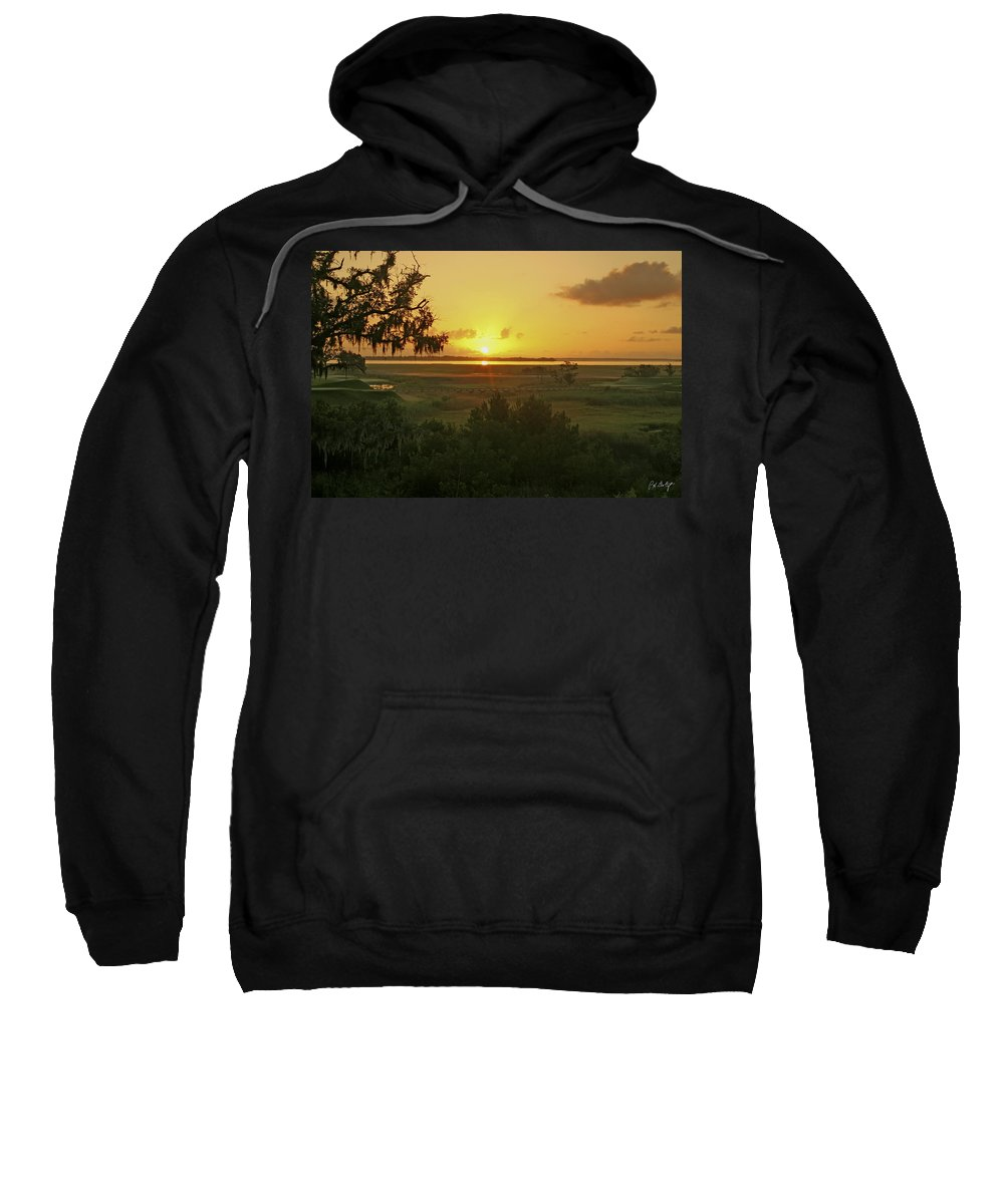 Sunrise Sweatshirt featuring the photograph Sun's Up by Phill Doherty