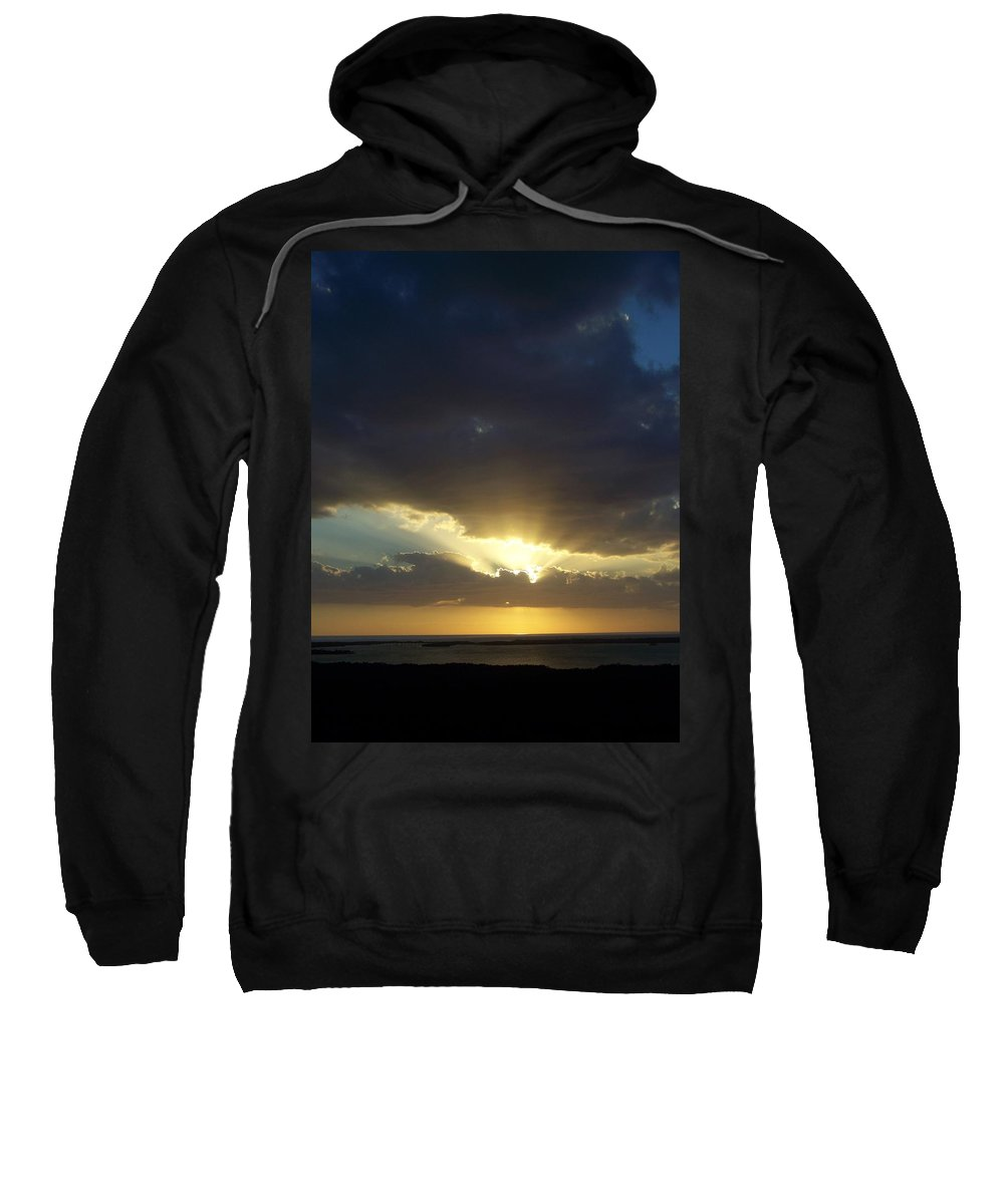 Sunset Sweatshirt featuring the photograph Sunset 0023 by Laurie Paci