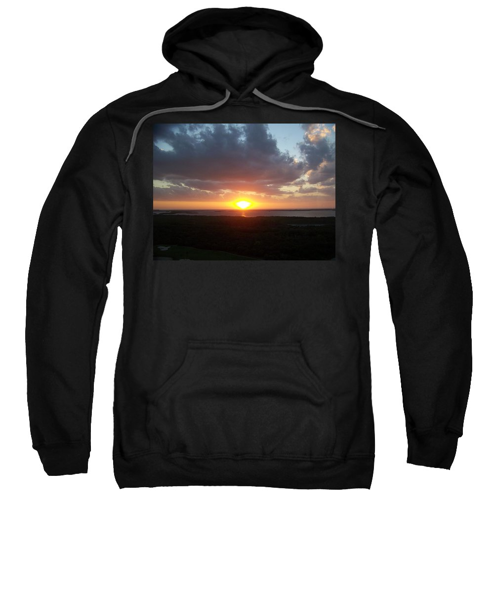 Sunset Sweatshirt featuring the photograph Sunset 0026 by Laurie Paci