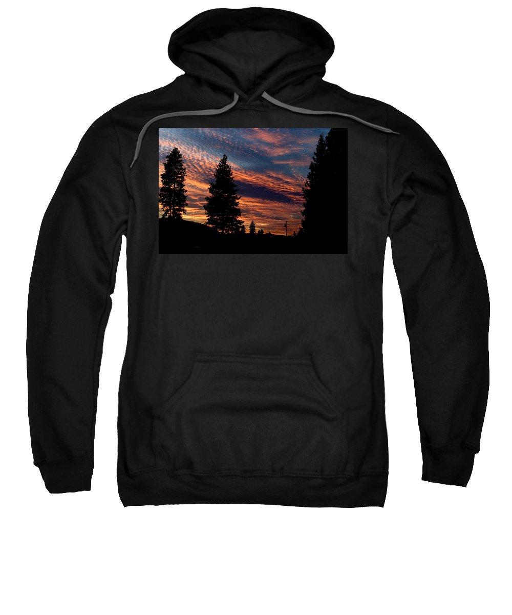 Landscape Sweatshirt featuring the photograph Sunset 2 by Lee Santa