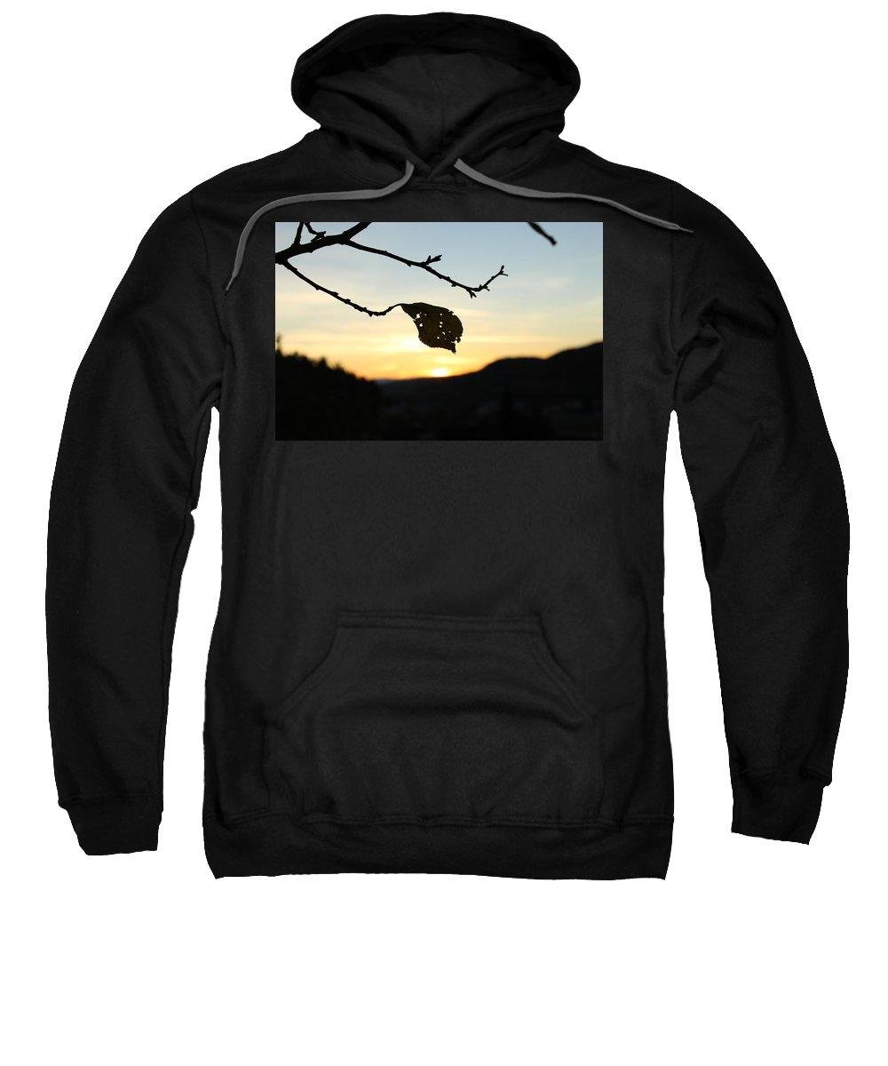 Sunset Sweatshirt featuring the photograph Sunset by Alena Madosova