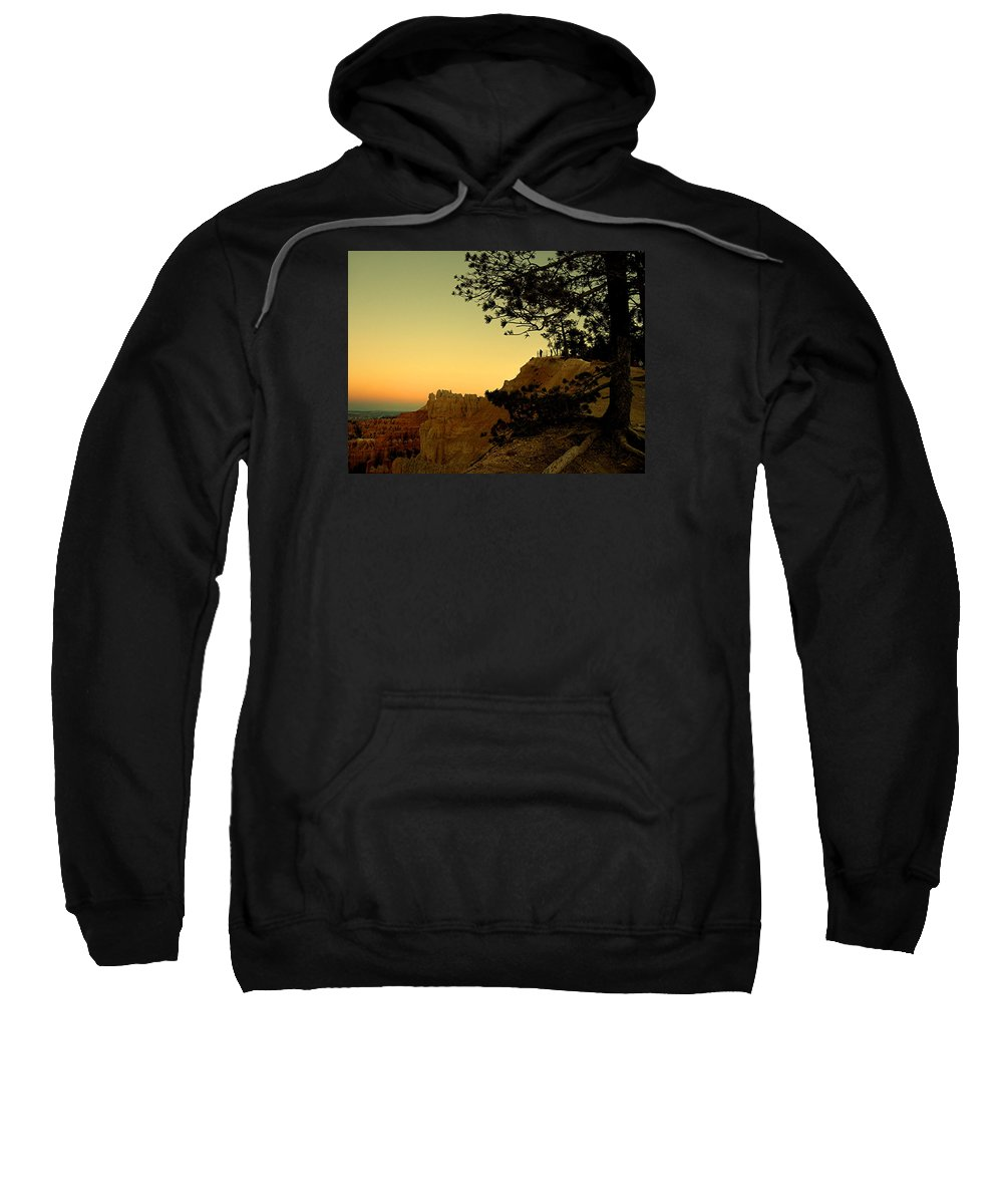 Bryce Sweatshirt featuring the photograph Sunset In Bryce Canyon by Martin Massari
