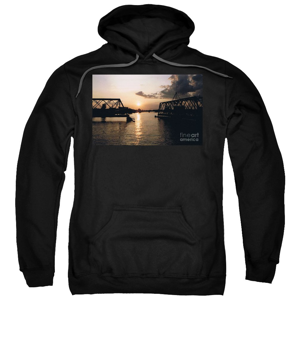 Superior Sweatshirt featuring the photograph Sunset In Superior Wi by Tommy Anderson