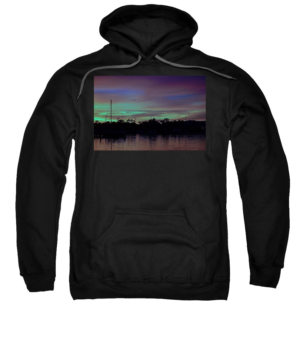 Sunset Sweatshirt featuring the photograph Sunset Pastels by Colleen Fox