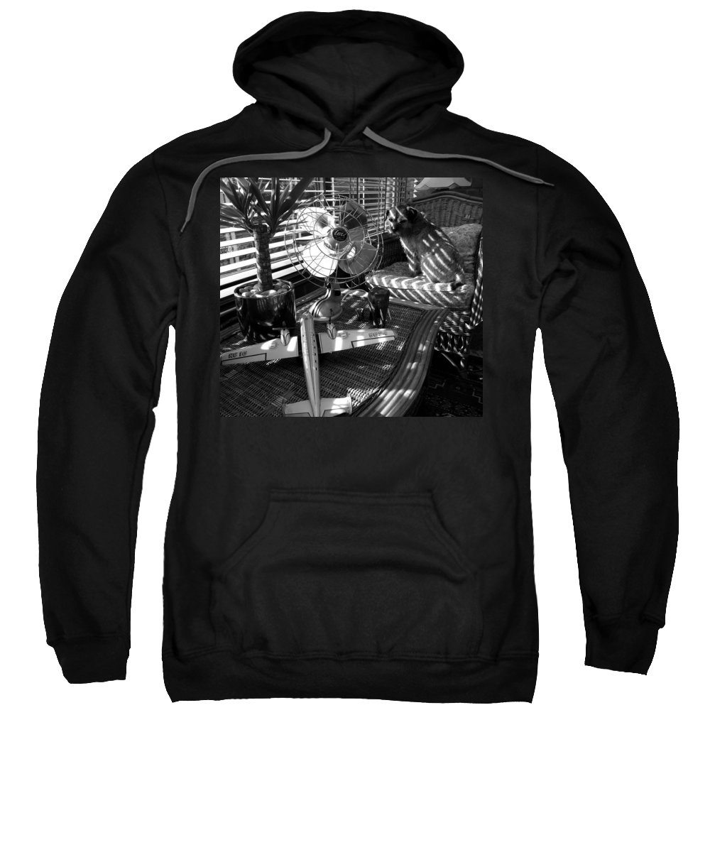 Still Life Sweatshirt featuring the painting Surburban Safari With Toto by Charles Stuart