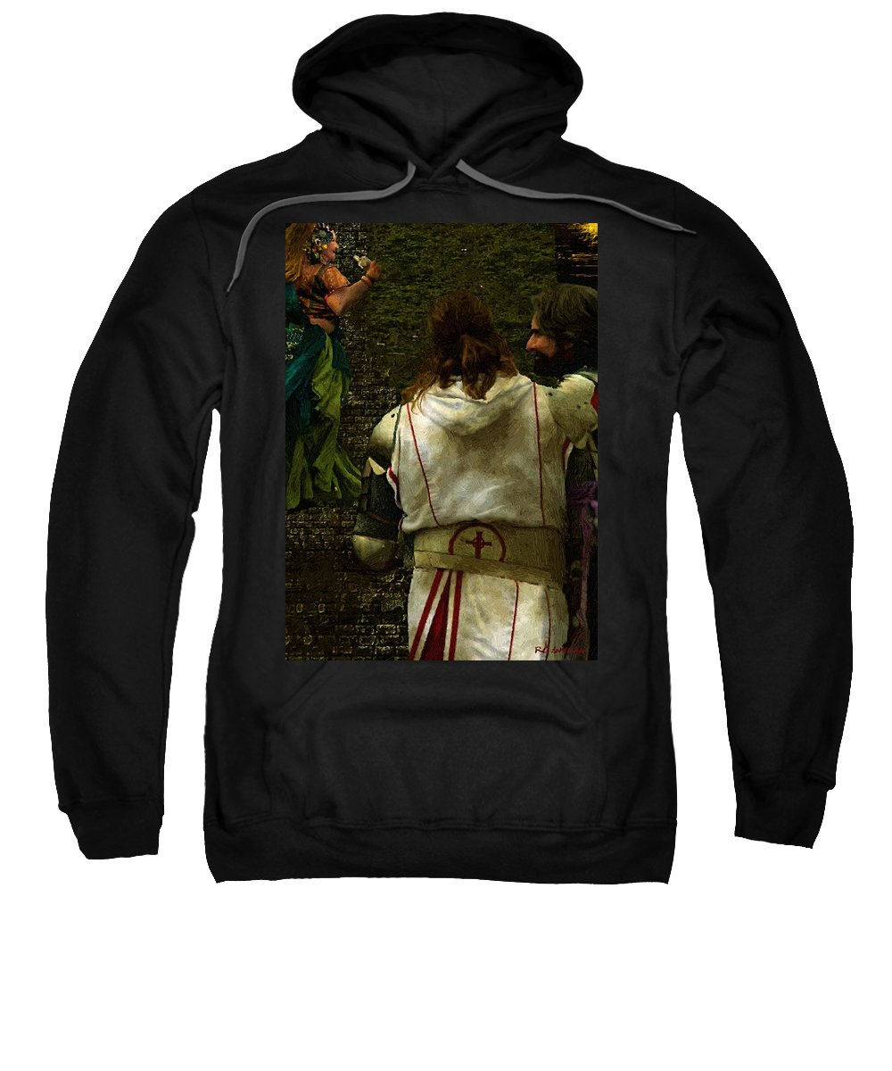 Building Sweatshirt featuring the painting Surely We Can Do Better Man by RC DeWinter