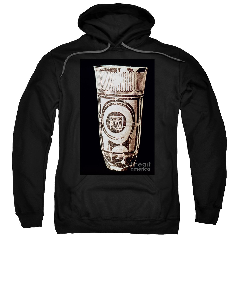 3500 B.c. Sweatshirt featuring the photograph Susa Ware Tumbler by Granger